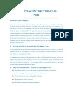 1. Adm. Trib. en el Perú