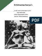 Krishnamacharya's Ashtanga Practice New Version