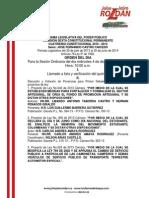 Agenda legislativa comisión sexta dic 4