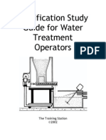 Water Treatment Study Guide