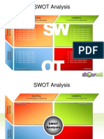 SWOT Analysis Templates