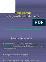 Tabagismul –diagnostic si tratament