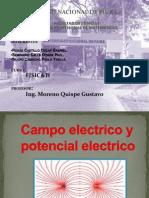 Potencial y Campo Electrico.........