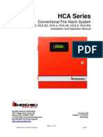 HCA-D Series Conventional Panel Manual V2.08