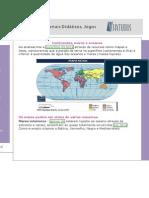 Material de Apoio Mapas e Continentes
