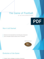 the game of football