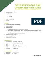 2 Nefrologi Klinik Dasar&Sindroma Nefritik Akut