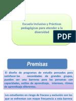 PPT 1 Prácticas para una escuela inclusiva