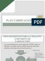 Plan Tarificacion