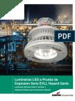 Luminarias LED Aprueba de Explosion