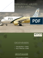 Ppt Pakistan International Airlines 1 S<K