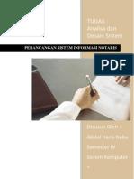Tugas Analisa Dan Desain Sistem Sistem Informasi Notaris