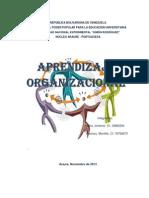 Ensayo Sobre Aprendizaje Organizacional Maria y Yusmary
