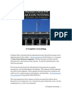 A Complete Accounting