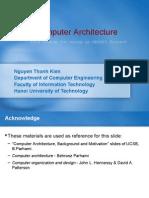 Computer Architecture (Kiến trúc máy tính)