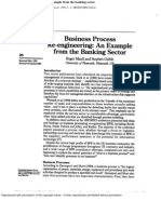 BPR an Example From Bank
