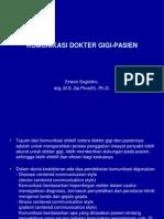 Kuliah 3- Umy--komunikasi Dokter Gigi - Pasien