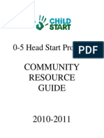 Community Resource Guide 2010 2011