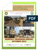 October 2013 Monthly Progress Report of NCRMP-TPQA