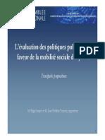 CEC - Présentation rapport mobilité sociale 03 12 2013 Copy