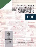 Manual Para La Construccion Por Autogestion Comunitaria