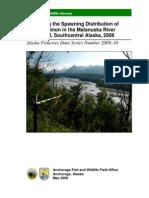 ESD Mat River Telemetry 2008 Data Series 2009-10 Copy