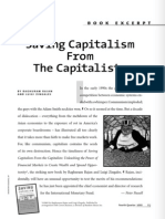 Save Capitalism From Capitalists