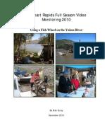 Ure 09 10 Rampart Rapids Video Monitoring Fishwheel Yukon River