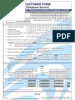 PTCL Connection Form