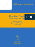 Cognitive Poetics Goals Gains and Gaps Applications of Cognitive Linguistics