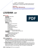 LOUISIANA Points of Interest