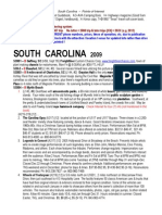 SOUTH CAROLINA Points Interest