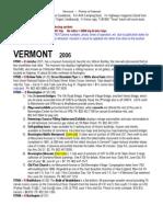 VERMONT Points of Interest