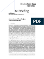 Armenia and Azerbaijan - a Season of Risks