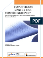 CPF Performance and Risk Monitoring Report Q4 08