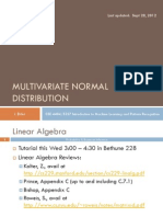 03 Multivariate Normal Distribution