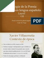Antología de la Poesía Moderna en lengua española