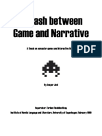 A Clash Between Game and Narrative