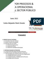 Manual Instructor Gestion Por Proceso & Eficiencia Operacional