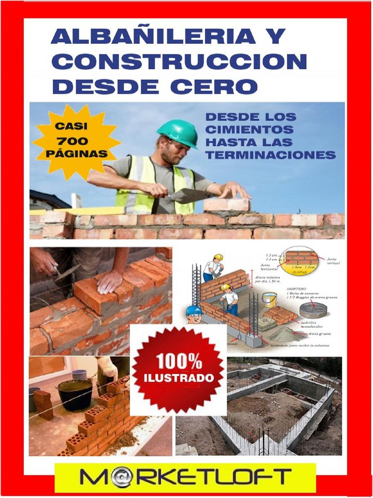 CURSO DE CONSTRUCCION Y ALBAÑILERIA - photo#7