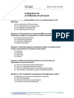 PMP Self Assessment 02 LifeCycle