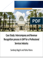 3608-Case Study- Intercompany and Revenue Recognition Process in SAP for a Professional Services Industry
