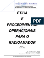 Apostila de Etica e Procedimentos Operacionais Da IARU Traduzida