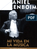 Mi Vida en La Musica - Barenboim