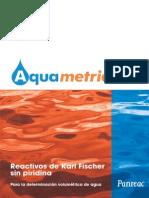 Aquametric, Reactivos de Karl Fischer Sin Piridina