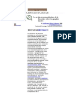 La Accion Neuromoduladora de La Dopamin Sobre Los Ganglios Perifericos