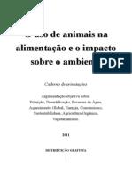 o Uso de Animais Na Alimentacao e o Impacto Sobre o Ambiente