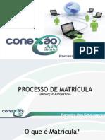 Conexao Aix Processo Matricula Faculdade