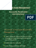 Account Receivable and Inventory Management Lecture 11,12,13