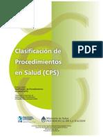 CPS Clasif. Proc.salud